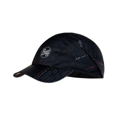 Buff---Pro-run-UV-pet-voor-volwassenen---Reflecterend-logo---Zwart