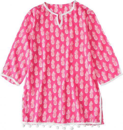 Snapper-Rock---Tuniek-voor-meisjes---Roze-Ananas
