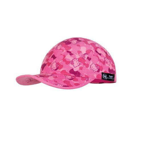 Buff---UV-pet-voor-meisjes---5-Panels-cap---Hello-Kitty---Roze