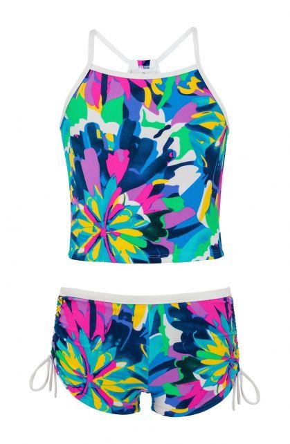 Snapper-Rock---UV-tankini---tropisch-neon