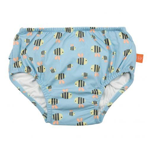 Lässig---Zwemluier-voor-baby's-Bumble-Bee---Lichtblauw