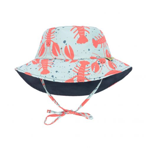 Lässig---UV-hoed-voor-baby-&-peuter-omkeerbaar---kreeft---multicolor