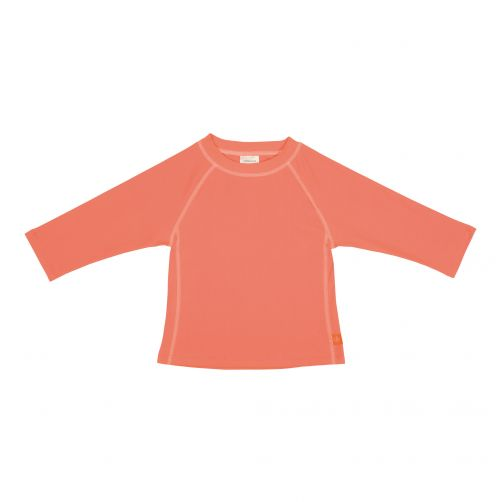 Lässig---UV-werend-zwemshirt-voor-kinderen-lange-mouwen---Perzik