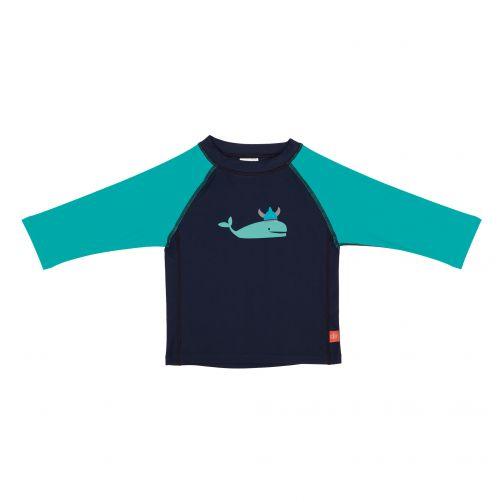 Lässig---UV-werend-zwemshirt-voor-kinderen-Whale---Donkerblauw