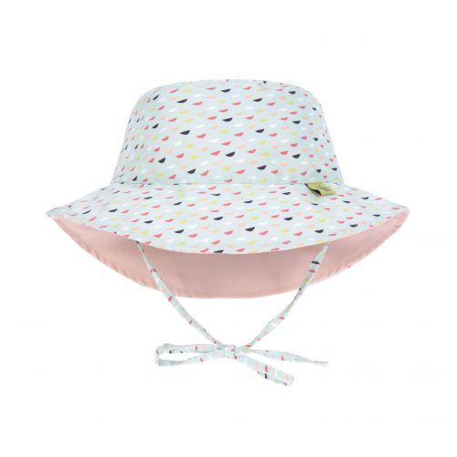 Lässig---UV-hoed-baby's-omkeerbaar---vissenschubben---multicolor