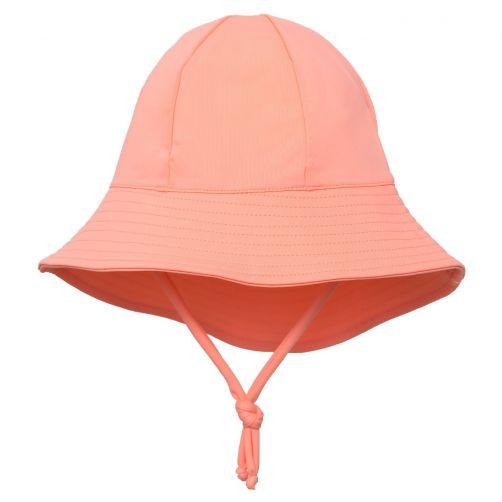 Petit-Crabe---UV-werende-zonnehoed-voor-kinderen---Koraal