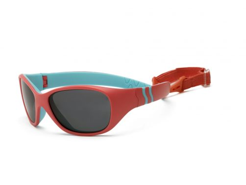 Real-Kids-Shades---UV-zonnebril-peuter---Adventure---Roze/turquoise