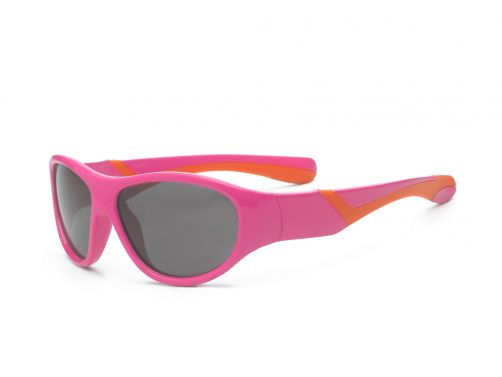 Real-Kids-Shades---UV-zonnebril-peuter---Discover---Roze-/-oranje
