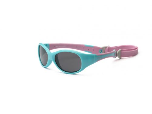 Real-Kids-Shades---UV-zonnebril-peuters---Explorer---Aquablauw-/-roze