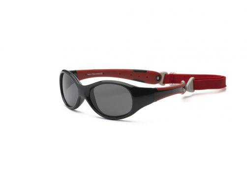 Real-Kids-Shades---UV-zonnebril-voor-peuters---Explorer---Zwart-/-rood