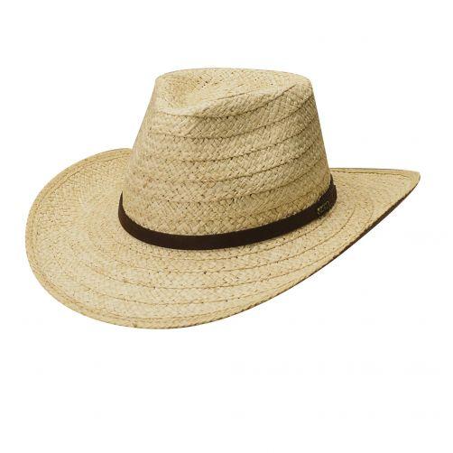 Scala---Safari-hoed-Raffia-voor-heren---Naturel