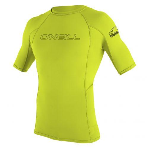 O'Neill---UV-shirt-voor-heren-met-korte-mouwen---groengeel-(lime)-