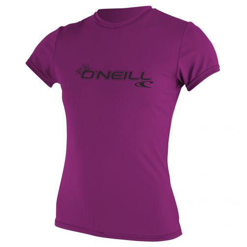 O'Neill---UV-werend-T-shirt-voor-dames-slim-fit---roze