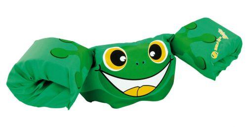 Puddle-Jumpers---Verstelbare-zwembandjes-met-kikker---Groen