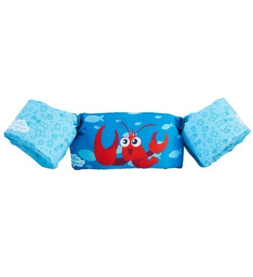 Puddle-Jumpers---Verstelbare-zwembandjes-met-kreeft---blauw