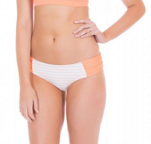 Cabana-Life---Bikinibroekje-voor-dames---Wit/Oranje