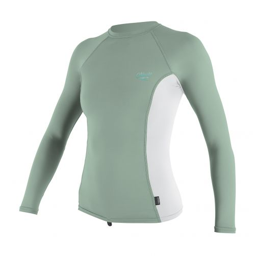 O'Neill---UV-werend-shirt-voor-dames---multicolor-(mint,-wit)