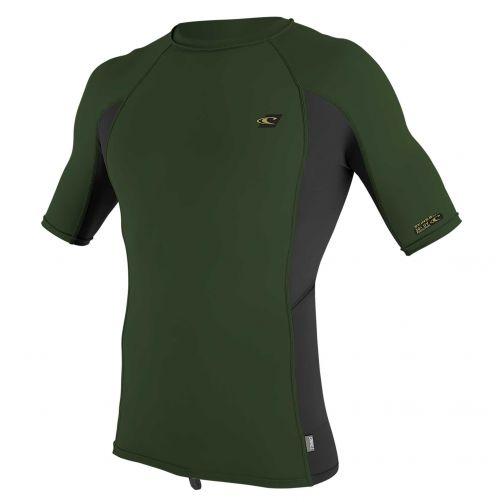 O'Neill---UV-shirt-voor-heren-met-korte-mouwen---Premium-Rash---Olijfgroen
