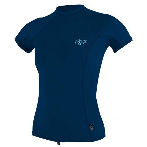 O'Neill---UV-shirt-voor-dames-met-korte-mouwen---Premium-Rash---Donkerblauw