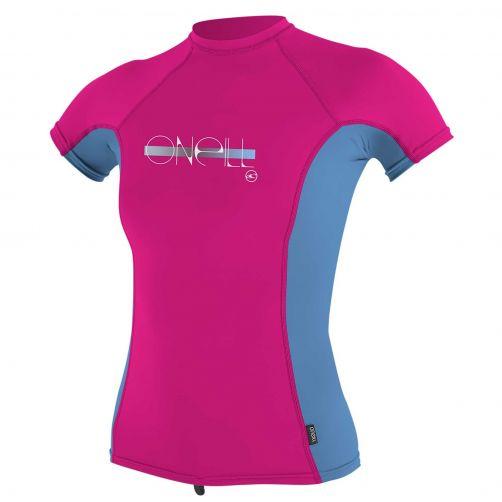O'Neill---UV-shirt-voor-meisjes-met-korte-mouwen---Premium-Rash---Roze