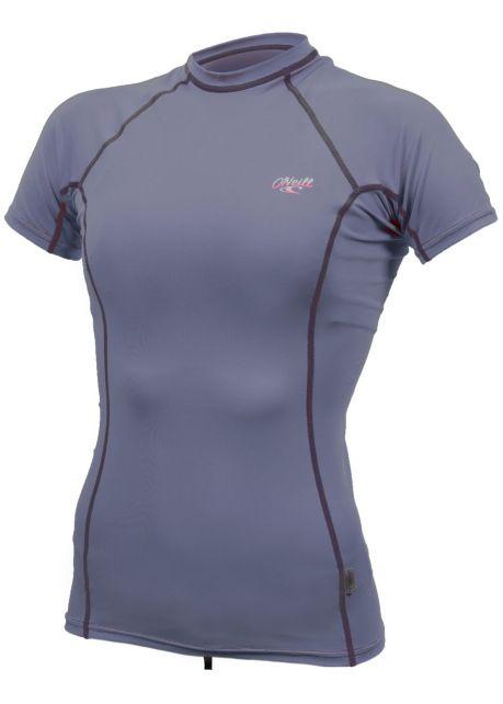 O'Neill---UV-shirt-voor-dames-met-korte-mouwen---Premium-Rash---Grijsblauw