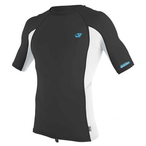 O'Neill---UV-shirt-voor-heren-met-korte-mouwen---Premium-Rash---Donkergrijs