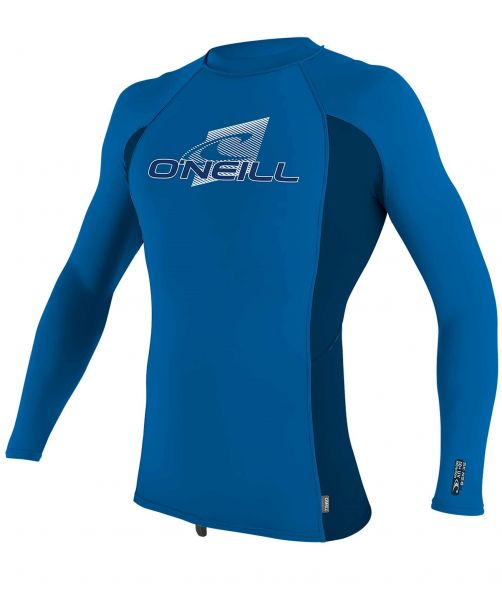 O'Neill---UV-shirt-voor-kinderen---Longsleeve---Premium-Rash---Oceaanblauw