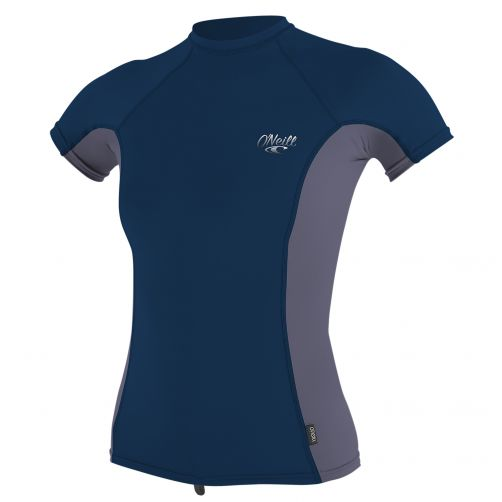 O'Neill---UV-werend-T-shirt-voor-dames---multicolor-(dusk,-abyss)