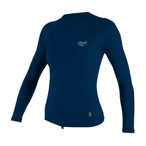 O'Neill---UV-shirt-voor-dames---Longsleeve---Premium-Rash---Donkerblauw