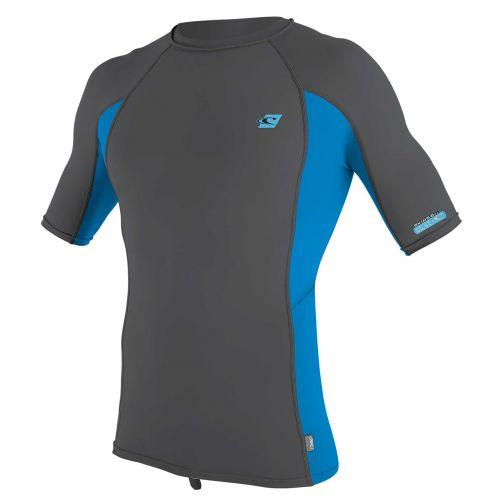 O'Neill---UV-shirt-voor-heren-met-korte-mouwen---Premium-Rash---Grijs