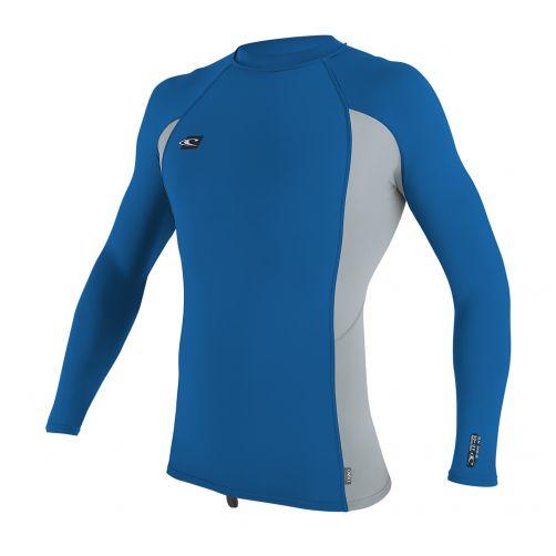 O'Neill---UV-shirt-voor-heren-met-lange-mouwen---blauwgrijs