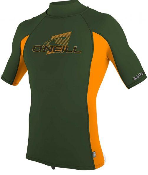 O'Neill---UV-shirt-voor-kinderen-met-hoge-hals---Premium-Rash---Olijfgroen
