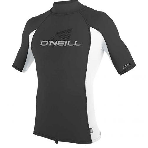 O'Neill---UV-shirt-voor-heren-met-hoge-hals---Premium-Rash---Donkergrijs