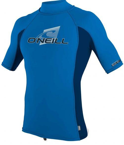 O'Neill---UV-shirt-voor-kinderen-met-hoge-hals---Premium-Rash---Oceaanblauw