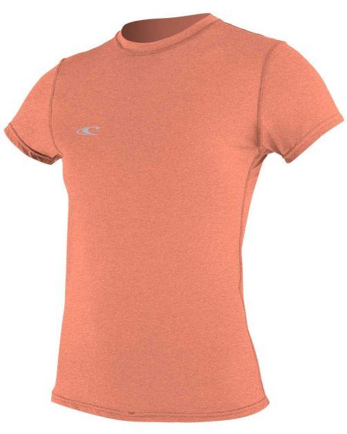 O'Neill---UV-shirt-voor-dames-met-korte-mouwen---Hybrid-Sun---Grapefruit