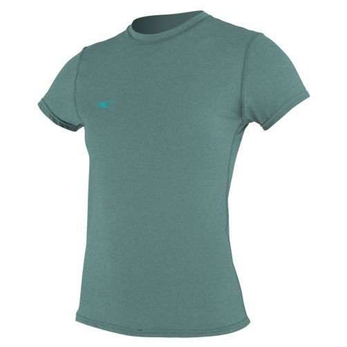 O'Neill---UV-werend-T-shirt-voor-dames-slim-fit---eucalyptus