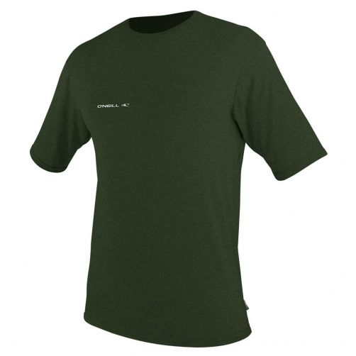 O'Neill---UV-shirt-voor-heren-met-korte-mouwen---Hybrid-Sun---Olijfgroen