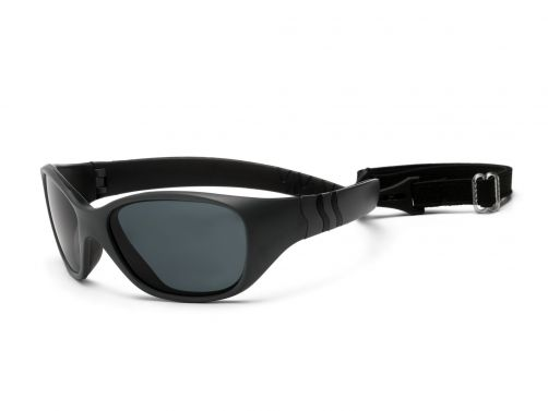 Real-Kids-Shades---UV-zonnebril-kleuter---Adventure---Grafiet-/-zwart