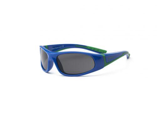 Real-Kids-Shades---UV-zonnebril-kleuter---Bolt---Royal-blauw-/-groen