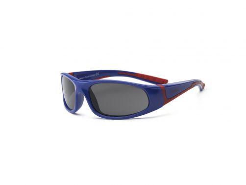 Real-Kids-Shades---UV-zonnebril-kleuter---Bolt---Navy-blauw-/-rood