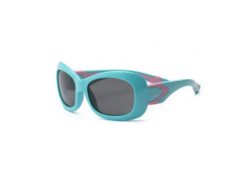 Real-Kids-Shades---UV-zonnebril-kleuter---Breeze---Aquablauw-/-roze