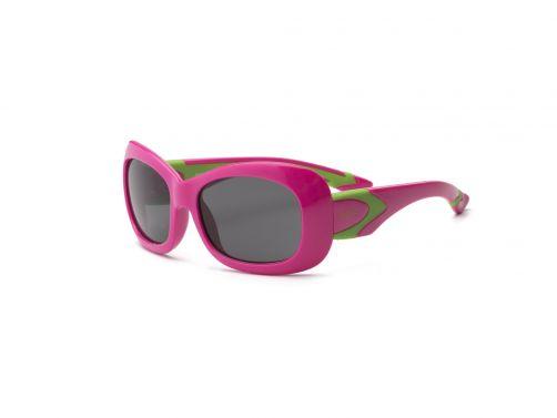 Real-Kids-Shades---UV-zonnebril-kleuter---Breeze---Roze-/-Limoengroen