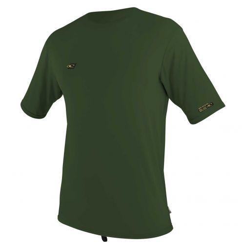 O'Neill---UV-shirt-voor-heren-met-korte-mouwen---Premium-Sun---Olijfgroen