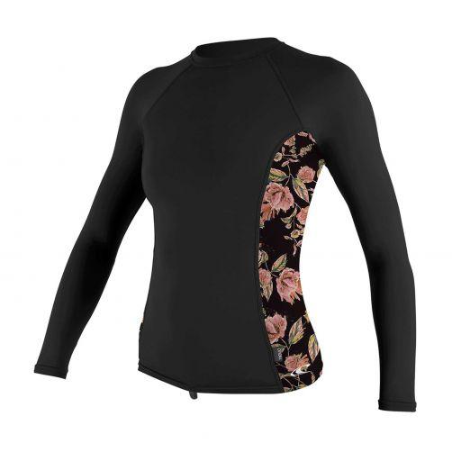 O'Neill---UV-shirt-voor-dames---Longsleeve---Rash-Guard---Zwart