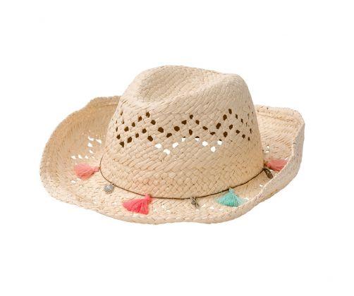 Snapper-Rock---Strohoed-Cowgirl-franjes---Naturel