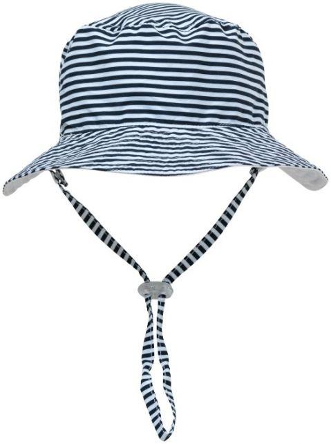 Snapper-Rock---UV-Bucket-hoed-voor-kids---Tweezijdig---Wit/Donkerblauw