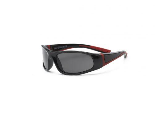 Real-Kids-Shades---UV-zonnebril-voor-kinderen---Bolt---Zwart-/-rood