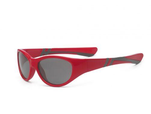 Real-Kids-Shades---UV-zonnebril-kind---Discover---Rood-/-zwart