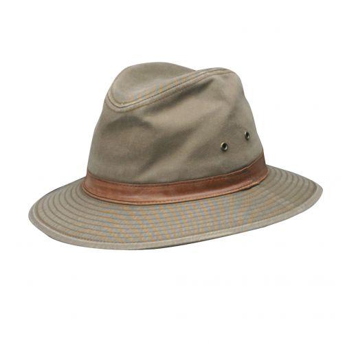 Dorfman-Pacific---UV-Fedora-hoed-voor-heren---Bruin
