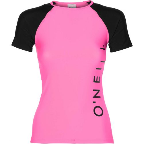 O'Neill---UV-zwemshirt-voor-dames---Shocking-Pink-roze
